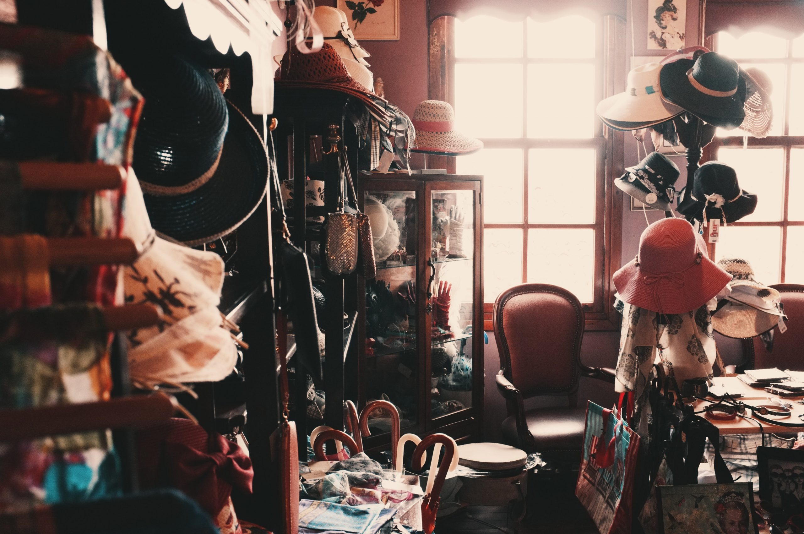 Messy room in house